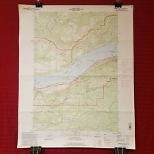 USGS 1994 DOI Topographic Map BRIDAL VEIL, OREGON-WASHINGTON Quadrangle 1:24,000