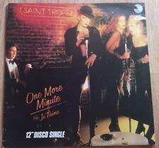 Saint Tropez - One More Minute / Je T'Aime - YELLOW VINYL - CHS 12 2331