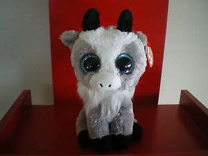 Ty Beanie Boos GABBY the goat 6 inch  NWT.  IN STOCK NOW