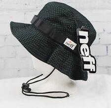 New 2017 Neff Mens Interlock Boonie Bush Hat Olive