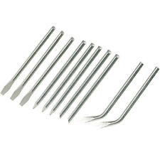 REPLACEMENT REPLACEABLE TIPS for 15W & 25W SOLDERING IRON 10pk - 3.9mm Diameter