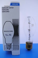 Philips H38HT-100 Mercury Vapor Lamp Light Bulb 100Watt, Mogul Base, Clear