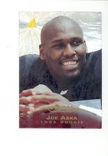 1995 Pinnacle JOE ASKA Oakland Raiders Rookie Trophy Collection Insert Card