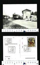 SUZZARA (MN) -VIE NUOVE E  ANTICA VEDUTA DELLA STAZIONE FERROVIARIA - 26525