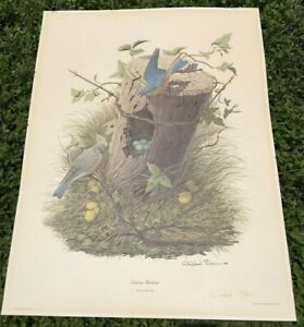 Richard Sloan Signed Litho Print From J.L.Wade Private Collection Plate No. II