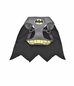 XS Batman Dog Harness w/Cape