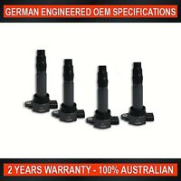 Set of 4 Ignition Coil for Mitsubishi Colt RG RZ 1.5L & Smart ForFour 1.3L 1.5L