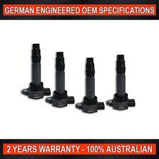 Set of 4 Ignition Coil for Mitsubishi Colt RG RZ 1.5L & Smart ForFour 1.3L 1.5L