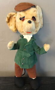 """Vintage Handmade in Italy Mouse teddy bear Antique Doll 16"""" G"""