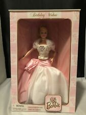 Nrfb- Birthday Wishes Barbie 1998 1999 2000 Lot 1st, 2nd, & 3rd In Series