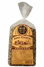 Amish Country Popcorn - 2 Lb Blue Kernels - Old Fashioned Non GMO Gluten Free...
