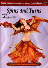 Spins & Turns with Marguerite - Belly Dance Video DVD