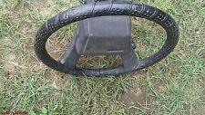 Black Steering Wheel & Cover 43K 84-88 SR5 Toyota Pickup Truck 89 4Runner