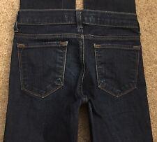 """J BRAND Girls Kids Jeans Denim SKINNY Leg in Pure Stretch Low sz 10 24"""" W LONG"""
