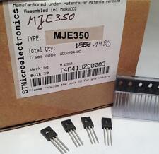 20 Stück/20 pieces  MJE350  SOT-32  PNP POWER TRANSISTOR  MJD350 300V 0,5A 21W