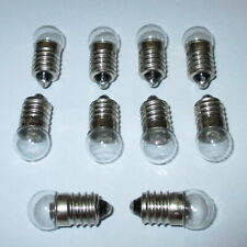 """LED Screw Thread E10 16-22V - 10 Pieces """" New"""