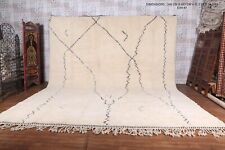 Custom Moroccan rug, beni ourain wool carpet