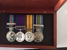Australian engraved  Medal Boxes to  keep your medals safe Limited time