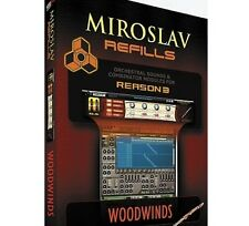 IK Multimedia Miroslav Refills for REASON Volume 6 - Woodwinds Mac/PC