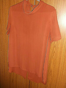 ladies top by peacocks size 14