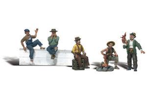 Woodland Scenics ~ HO Scale People ~ Hobos ~ A1860