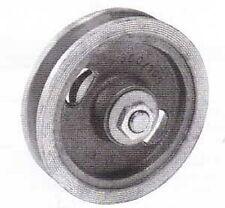 Schiebetorrolle ohne Bügel 105 mm Türrolle Schiebetürbeschlag Torrolle GussRolle