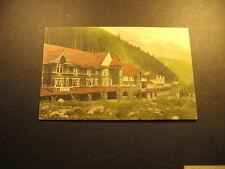 Glacier House, Glacier, B.C., used postcard