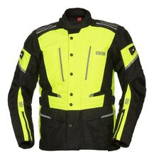 iXS Powells-st Motorradjacke Neon-gelb schwarz Gr. M