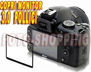 """PROTEZIONE DISPLAY 3"""" POLLICI SCREEN PROTECTOR LCD COPRI MONITOR UNIVERSALE 3.0"""