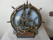 Vintage Rara Nave Barco Chimenea De Hierro Herramienta Soporte Stand no herramientas tope de puerta