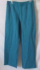 """Womens Hanes Open Leg Fleece Sweat pants - Mermaid Heather - Size S - Inseam 30"""""""