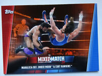 2019 Topps WWE Women's Division Mixed Match Mahalicia Ember Orange Card 02/50