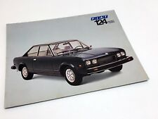 1975 Fiat 124 Sport Coupe Information Sheet Brochure