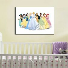 60×80×3cm Disney Princess Stretched Canvas Prints Framed Giclee Wall Art Decor