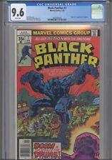 Black Panther #7 CGC 9.6 1978 Marvel Jack Kirby Story Origin 1st App Jakarra