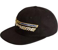 Supreme Mother*ucker Hat Snap Back Trucker Hype Beast Black New Bonus Shower Cap