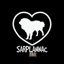 Sarplaninac I Love My Vinyl Sticker Ukc Registered Dog