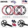 DECKAS 104BCD Narrow Wide Round Oval 32T-52T MTB Bike Chainring 8-12S Chainwheel