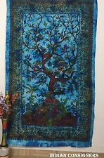 Wall Hanging Lovely Birds Perfect Bedding Bed Sheet Tapestry Life Tree Bohemian