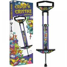 POGO STICK BOYS BLUE GREAT GRAPHICS JUMPING BOUNCING EXERCISE FUN NEW