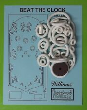 1963 Williams Beat The Clock pinball rubber ring kit