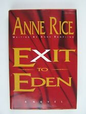 Anne Rice Exit to Eden Hardcover BCE