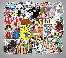 10pcs Skateboard Vinyl Sticker Skate Graffiti Laptop Luggage Car Bomb Decal Lot