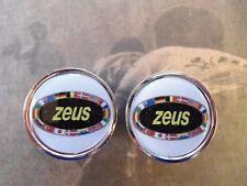 Vintage style Zeus Handlebar End Plugs