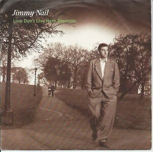 """Jimmy Nail - Love Don't Live Here Anymore 7"""" Vinyl Single 1985"""