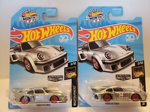 2018 Hot Wheels Zamac PORSCHE 934.5 2/10 Night Burnerz VHTF  LOT OF 2