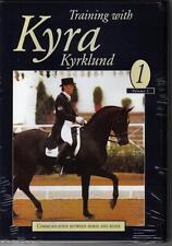 NEW Dressage DVD TRAINING WITH KYRA KYRKLUND Volume 1