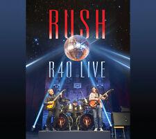 Rush R40 Live DVD 3 CD Set Still Factory FREEPOST