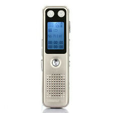 Trustin Portable Multifunctional Digital Voice Recorder 8Gb Dictaphone - Gold