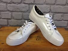 BROOKHAVEN MENS UK 7 WHITE TRAINERS RRP £55